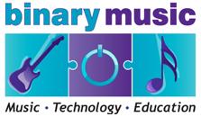 Binary Music Logo