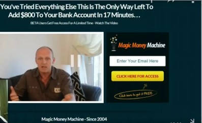 Magic Money Machine