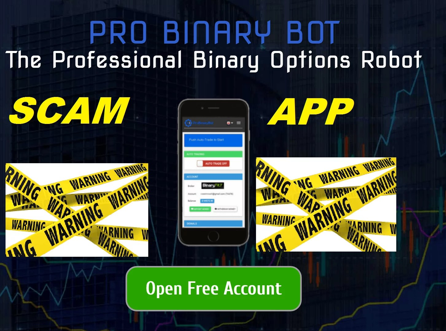 first binary options bots review