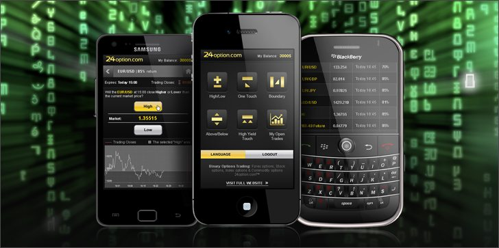 Binary options trading apps