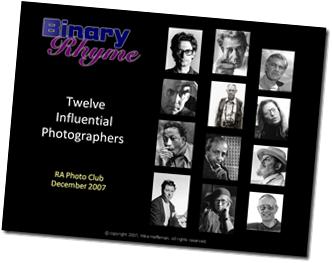 Twelve Influential Photographers
