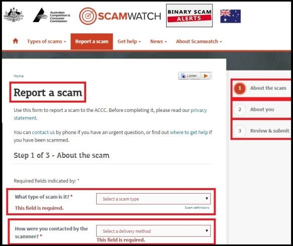 ScamWatch Australia