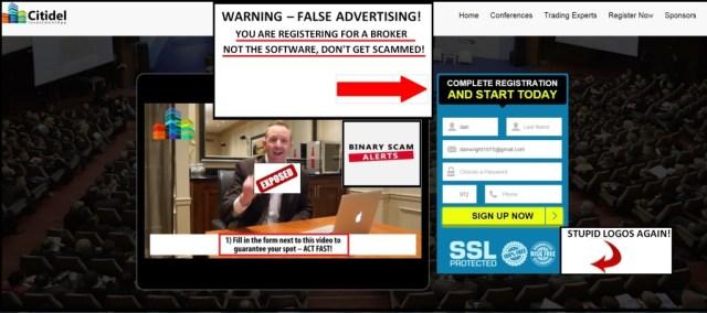 citidel scam