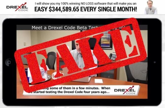 drexel code scam