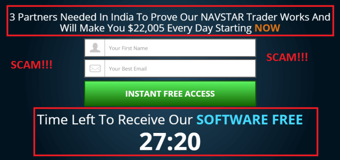 navstar trader scam