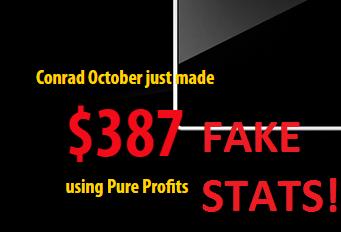 fake earnings report