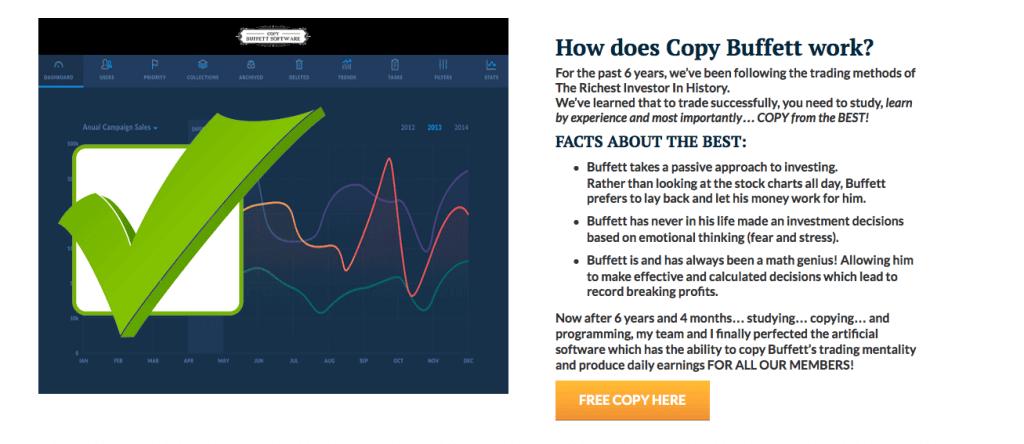 copy buffett features