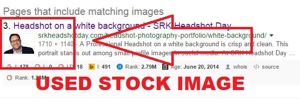 stock images used