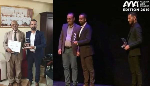 ابن باديس.نات يتوج بجائزة Algeria Web Awards لسنة 2019