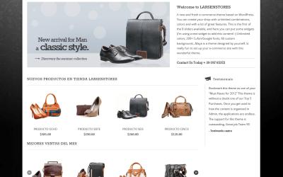 Página Web para LarsenStores