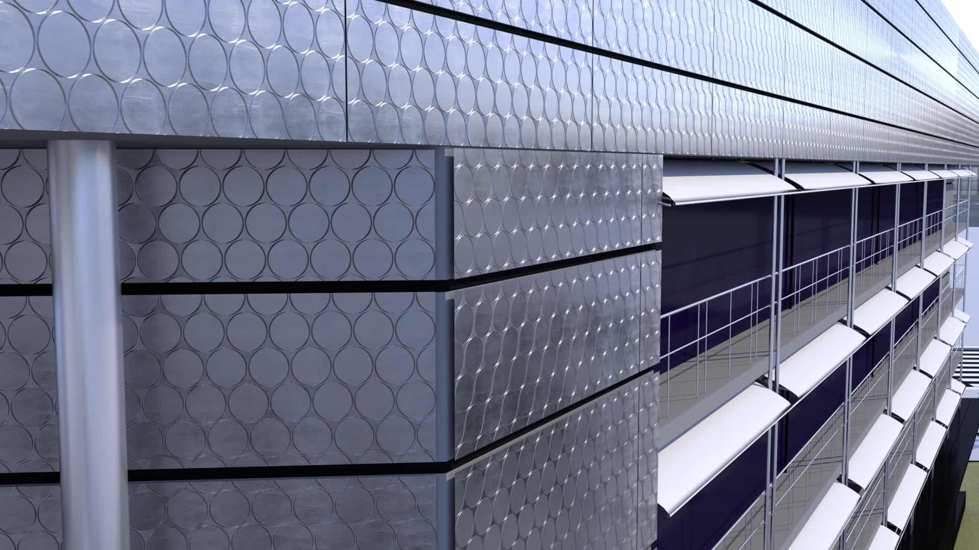Binder Parametric Metal - Parametric 3D metal facades for