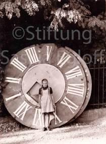 Alters Zifferblatt mit Tochter Jakob Greuter