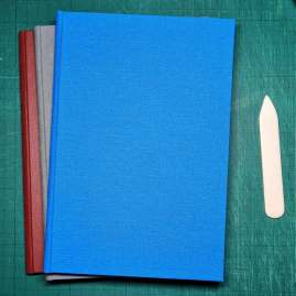 Double Section Bookbinding Book covers 3