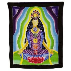 Tapiz meditacion chakras