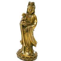 Diosa Kuan Yin bronce