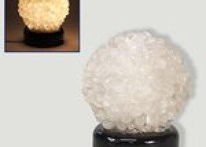 lampara cuarzo cristal