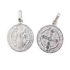 Colgante medalla San Benito