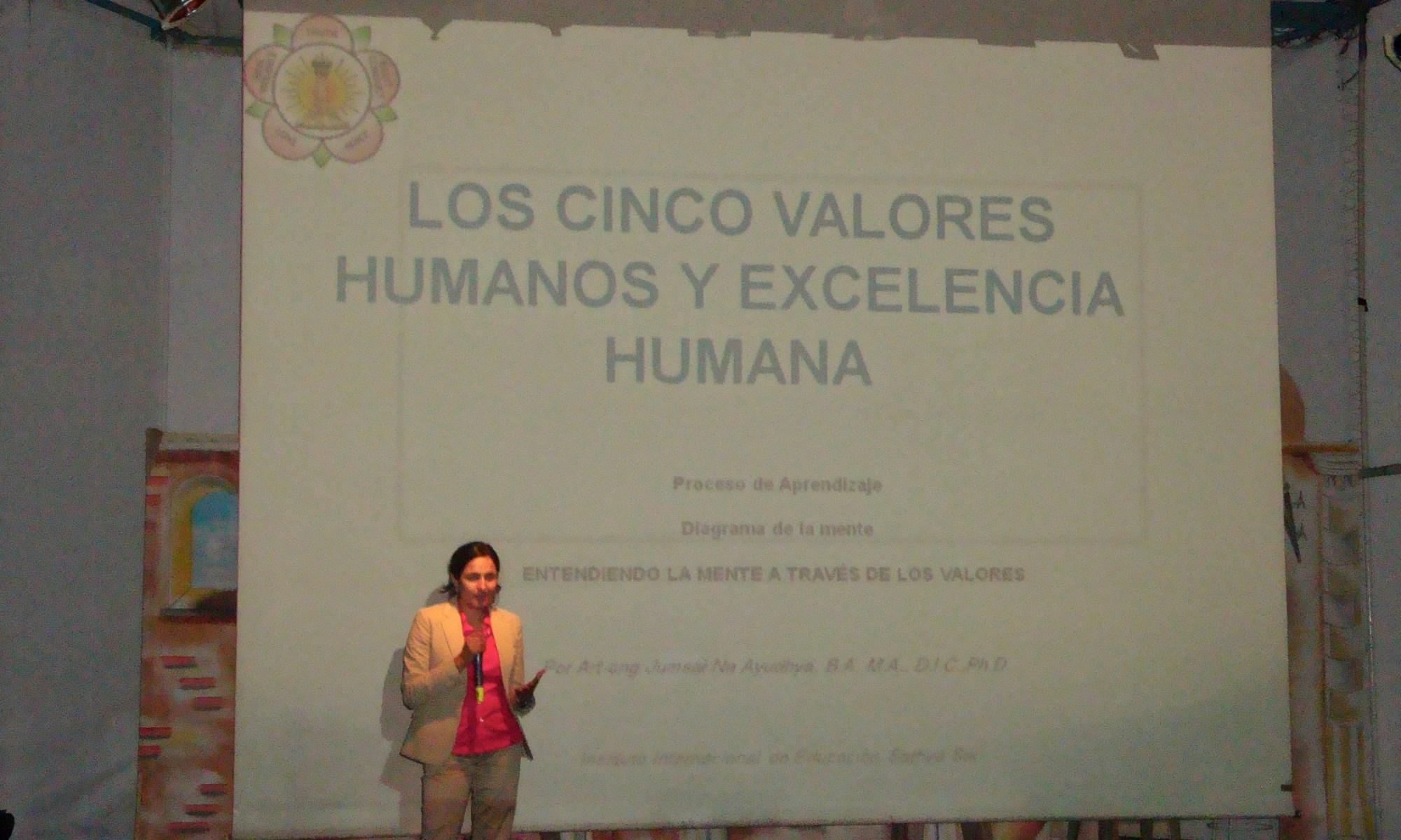 cinco valores humanos