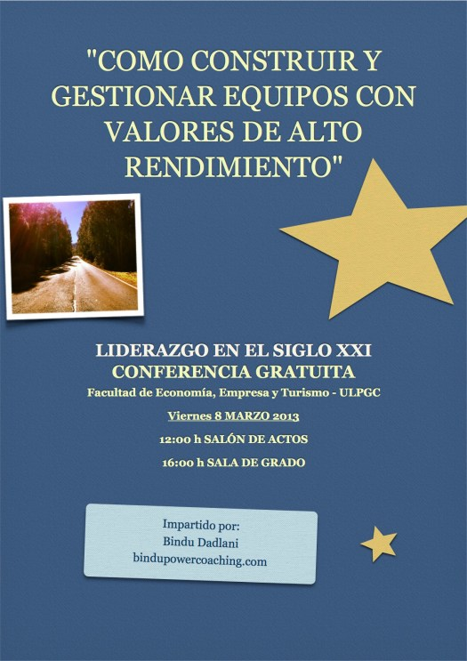 Conferencia Facultad de Economía ULPGC
