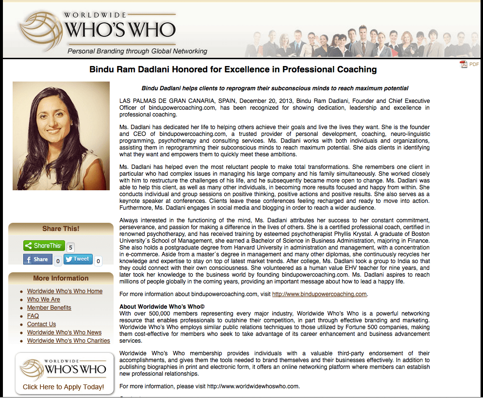 Excellence professional coaching