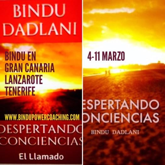 Bindu en Canarias 4-11 de Marzo