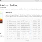 iTunes Podcast de Bindu Power Coaching