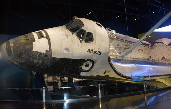 Space Shuttle Atlantis, KSC Visitor Center, Space Coast