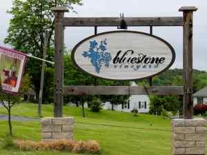 Bluestone Vineyard Signage