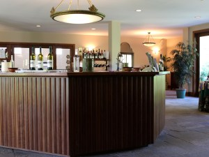The tasting bar at White Hall.