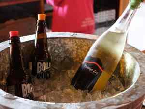 Bold Rock Cider prepped for tasting