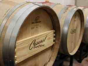 Casanel Vineyards and Winery Barrels