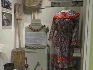 Columbus Museum exhibit about the Creek Indians