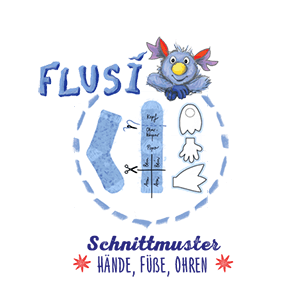 Flusi Schnittmuster - Flusi