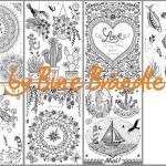 Zusammenstellung MANDALA miniklein - Vorlagenmappe Sonnentage & Blütenträume