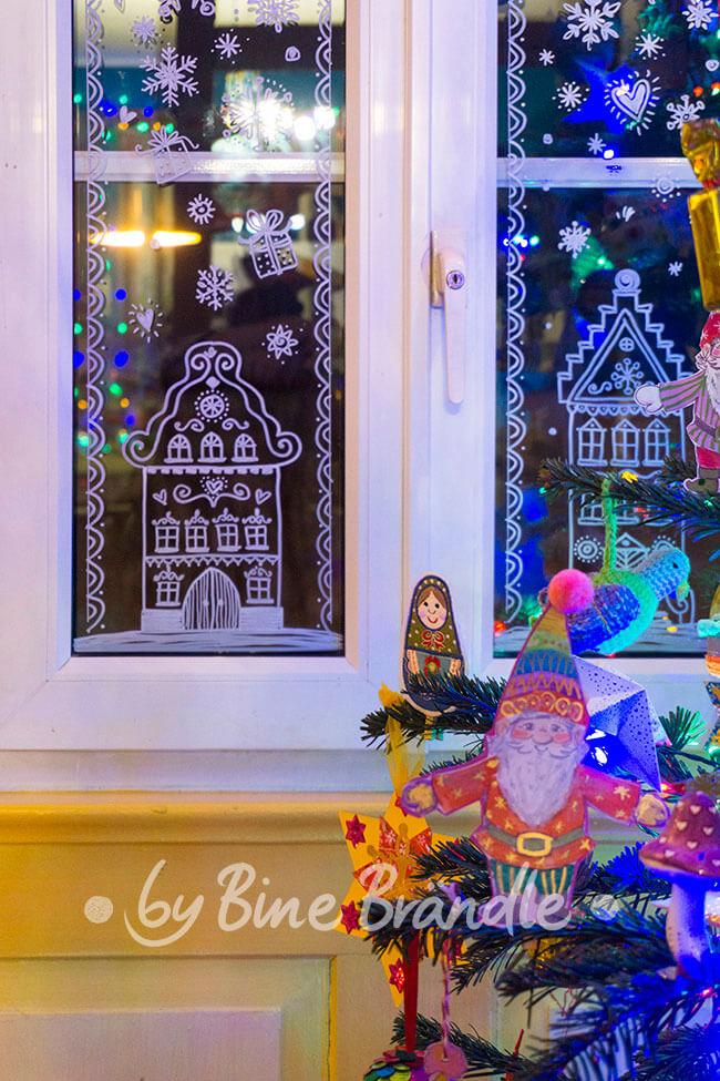 Vorlagenmappe Fröhliche Weihnachten Bine Brändle
