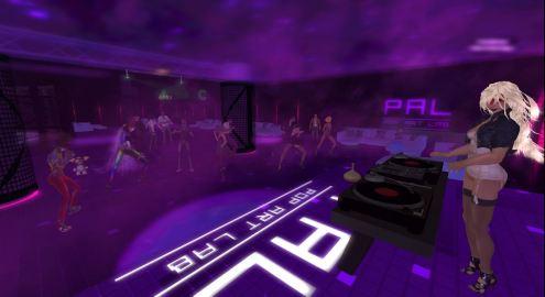 DJing at PAL