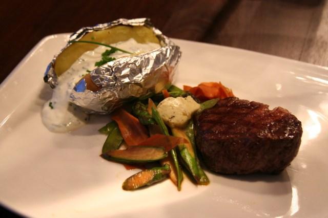 Steak & Spargel