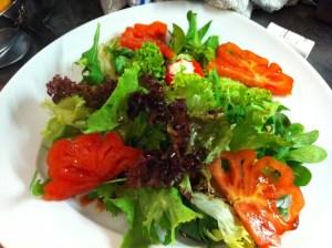 Huehnerstreifensalat