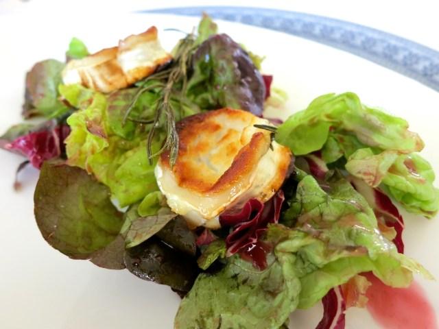 Ziegenkäse auf Salat – 05