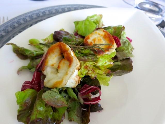 Ziegenkäse auf Salat – 08