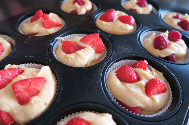 Erdbeer-Muffins – 07