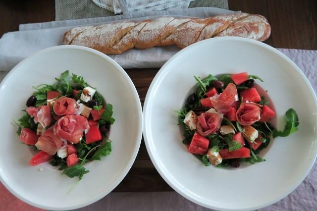 Salat mit Wassermelone – 06