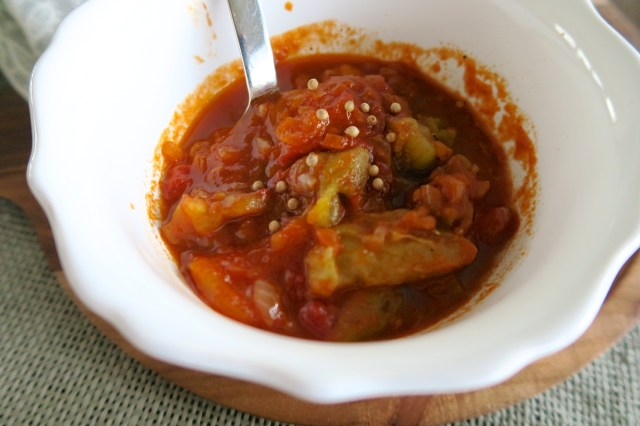 Garammasala-Fleischbällchen mit Balsamicolinsen – 25