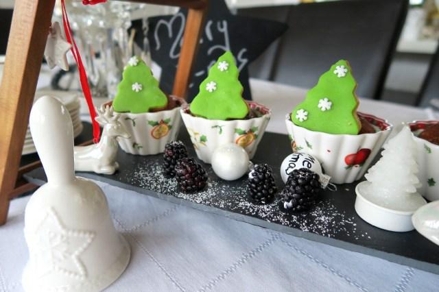 Weihnachtsbaum-Muffins – 50