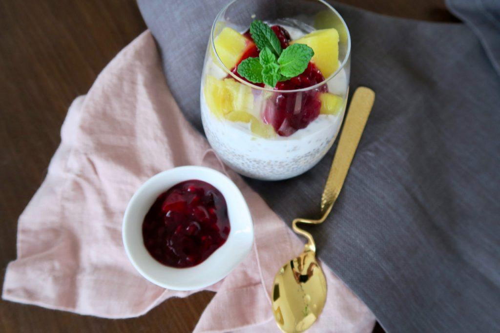 Kokos-Chia-Pudding