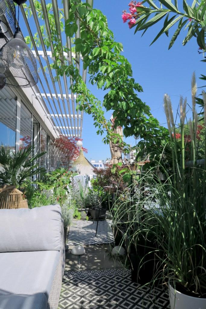Terrassendekoration, Boho Style Terrasse