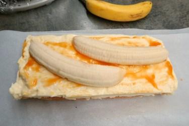 Bananen Cremeschnitte