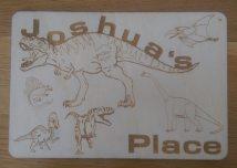 Dinosaur Child's Place Mat