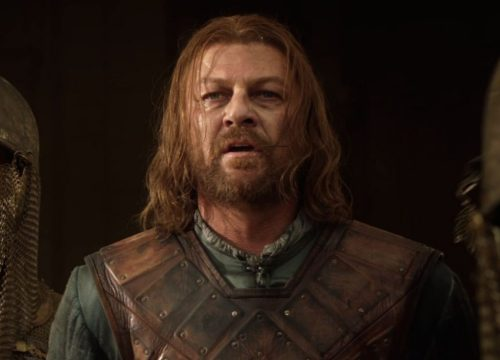 Sean Bean as Lord Eddard and Ned Stark