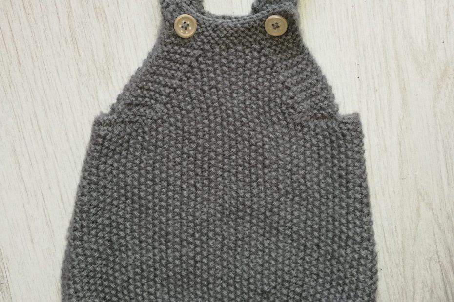barboteuse Mio tricot devant